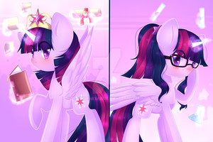 Princess Twilight-Science Twilight [AG] by Twily-Star