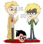 (I REGRET OF THIS) Vervian And Constantine In TTG by VelociPRATTor