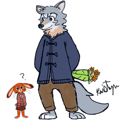 If Poppy and Chrome were in Zootopia by Friendlyfoxpal