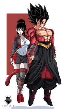 Commission 43: Chigo and lord slider by KingKenoArtz