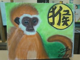 Chinese Zodiac - The Monkey by Konack1