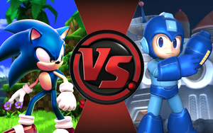 CFC|Game Sonic vs. Megaman by Vex2001