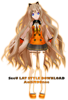 MMD SeeU LAT STYLE DOWNLOAD by AoiSM98nee