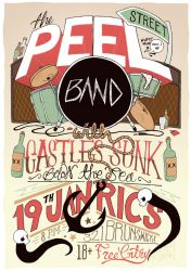 Peel Street Band Poster by dummypills