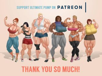 Ultimate Pump Dateable Lineup by MoxyDoxy