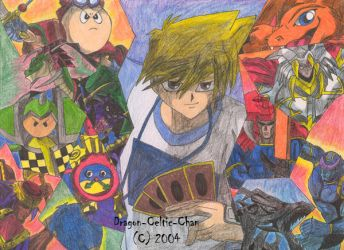 Joey and His Monsters by Dragon-Celtic-Chan