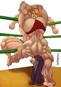 [C] Wrestling Match 09 by roemesquita