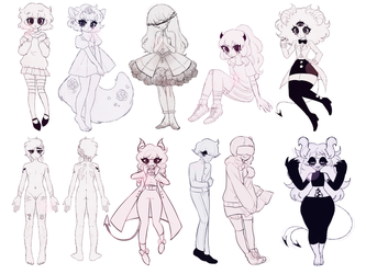 sketchies by dollieguts