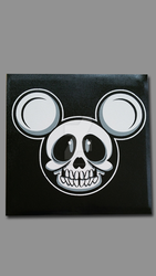 X-ray Mickey Mouse Painting by cgianelloni