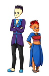 CMM - Nigellan and Tsunesa by Fyreglyphs
