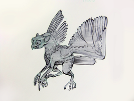 Inktober2016 day 9 by Clean3d