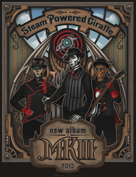 Steam Powered Giraffe MKlll concept promo by Cthulhu-Great