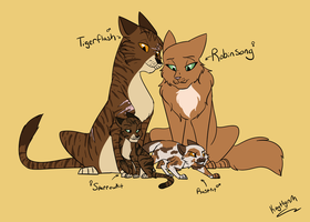 Robinsong family by kerorolover16