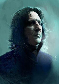 Snape by kittrose
