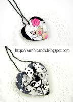 eye patch necklace by zambicandy