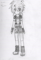 OC: Akemi's second outfit by Shichiro-chan