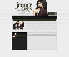 Kylie and Kendall Layout | JennerNews.blog.cz by lenkamason