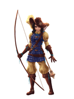 Longbow Archer by KryzzX3