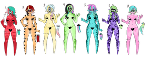 Xynthii: Adopts: Set Price CLOSED by ObsceneBarbie