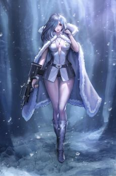 Anon Snow Trooper by chaosringen