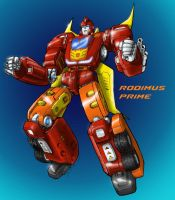 Rodimus Prime Redesign 2 by Johnny216