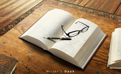 Writer's Desk by hussain1