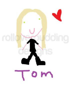 Tom as Digital Art by rolloverpudding