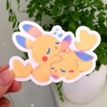 Chus Sticker by ieafy