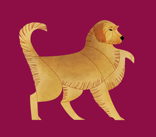 Year of the Dog - Styrian Coarse-Haired Hound by Kelgrid