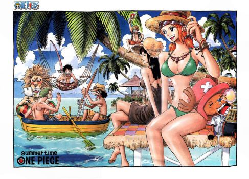 One piece at the beach by juju67