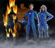 Fantastic Four 2nd skin textures for M4 and V4 by hiram67