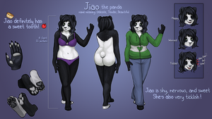 Jiao: the cutest panda! by little-owlette