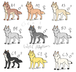 Gen1 - Wolves - Litter by Rin-shi