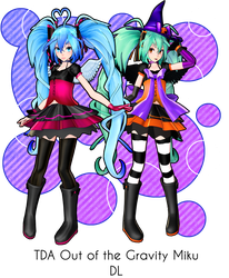 [640 Watchers Gift] -TDA Heart of Gravity Miku DL- by Sushi-Kittie