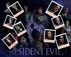 resident evil 6 wallpaper by punkprincess898