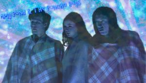Amy Pond and The Poncho Boys by icewormie