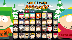 South Park Asskicker: Character Select Page 1 by Lolwutburger
