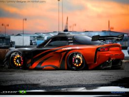 RX-7  version 2 by Johnny-Designer