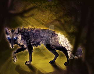 Silver Wolf by posteyam