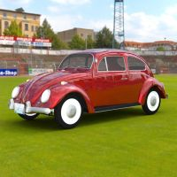 VW Beetle In A Stadium by VanishingPointInc