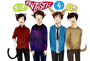 THE FANTASTIC FOURSOME! by wangoes