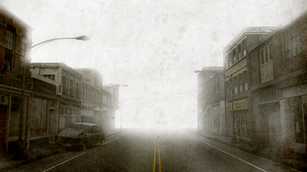 Old Silent Hill by AlexSlevin