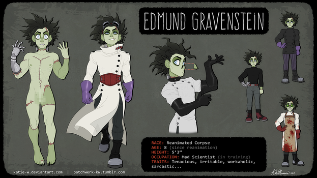 Edmund Character Sheet 2017 by Katie-W