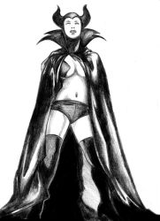 Draw Off 21_Frost Maleficent by connerche