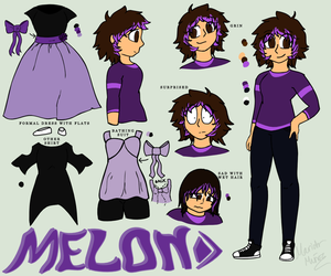 Melon Majestic Ref Sheet (2018) by Creation-0