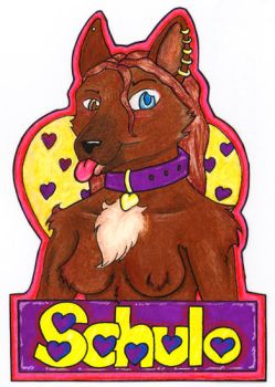 schulo badge by happydragonferret