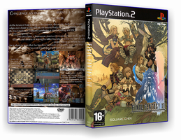 Final Fantasy XII customcover by nakashimariku