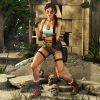 Tomb Raider: Careful Now... by Irishhips