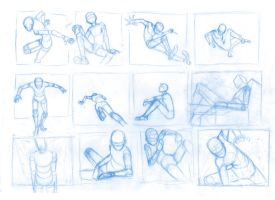 Pose Studies 20 by Brant-Bi