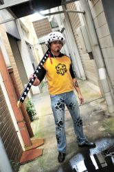 Death Doctor - Trafalgar Law by Mint-ice-tea